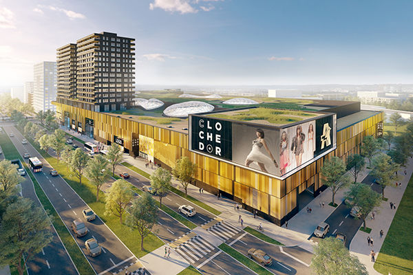 Cloche d'Or, le Shopping center 4.0