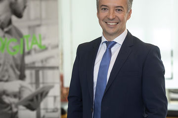 David Orgaz D'Hollander, nouveau CEO de Schneider Electric Belgique