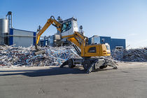 Manutention avec Liebherr