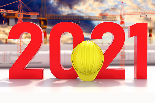 Calendrier construction 2021
