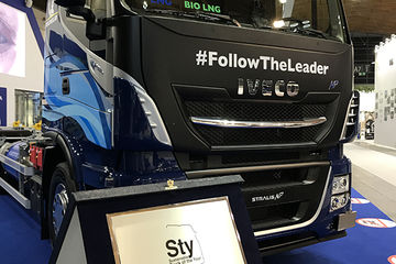 Stralis NP 460: Sustainable Truck of the Year 2019